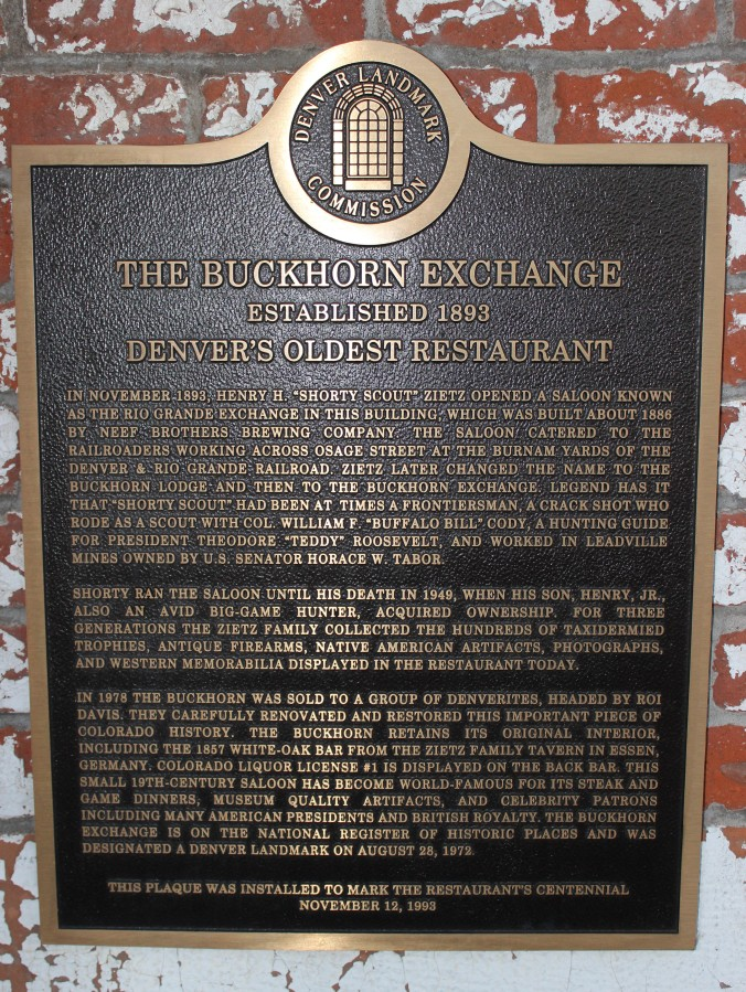 The Buckhorn Exchange
