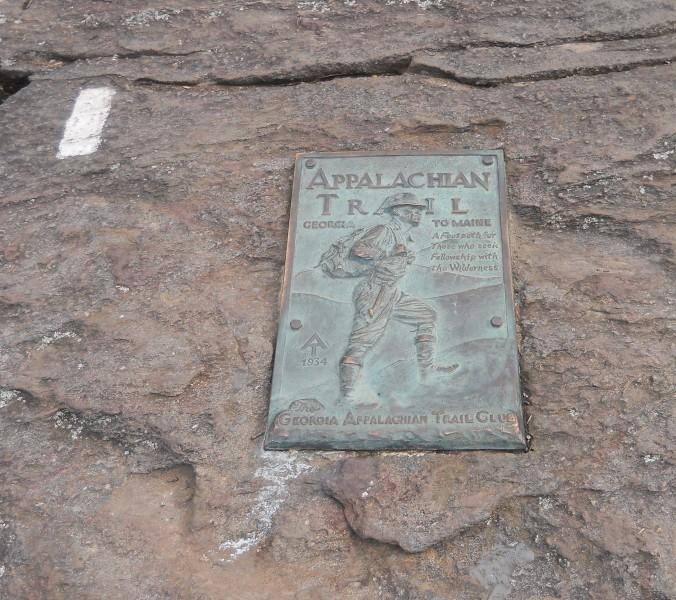Appalachian Trail Plaque