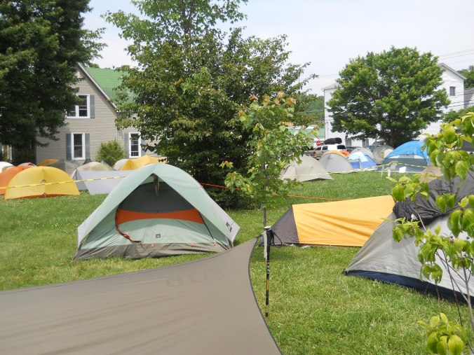 Tents, tents everywhere