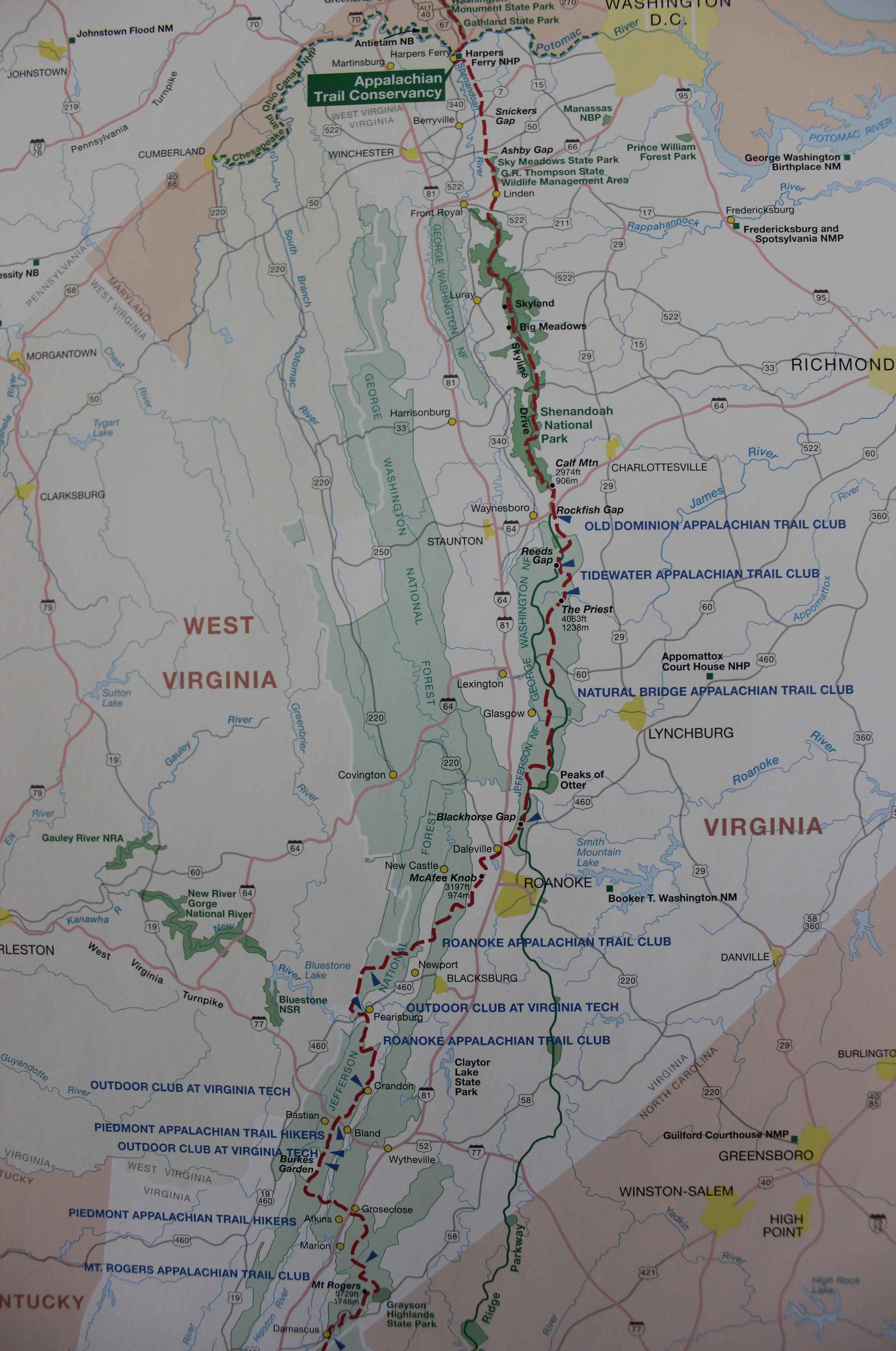 An Appalachian Trail Series – Virginia, PART ONE | The Broken Compass